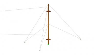 009 PrkL Model-3D maszt