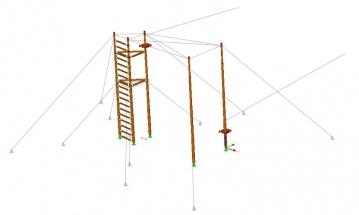 009 PrkL Model-3D wieża