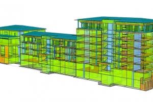 01-01 034 Budynek mieszkalno-usługowy; Oświęcim, ul. Żwirki i Wigury; 6000 m2