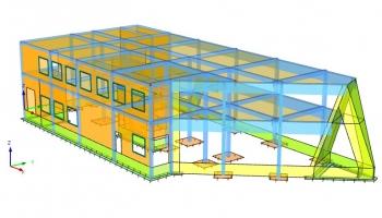 01-04 GAL 00B Attic model 3D
